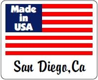 Made in San Diego, California, USA