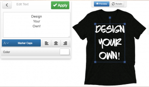 design your own t shirt - dark charcoal