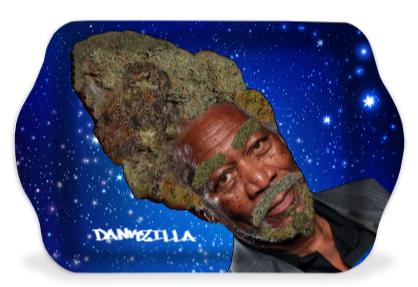 Morgan Fweedman Dankzilla Space Rolling Tray