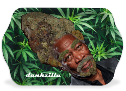 Morgan Fweedman Dankzilla Weed Leaf Rolling Tray